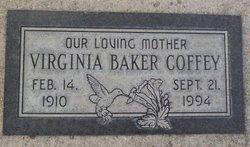 Virginia <i>Baker</i> Coffey