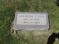 Gertrude Frances Gertie <i>Arnold</i> Keim
