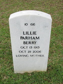 Lillie Macon <i>Parham</i> Berry