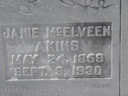 Janie <i>McElveen</i> Akins