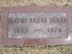 Mary Anna Mayme <i>Brune</i> Denny