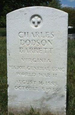 Gen Charles Dodson Barrett