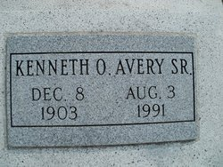 Kenneth Orval Avery, Sr