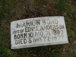 Marion <i>Bond</i> Anderson