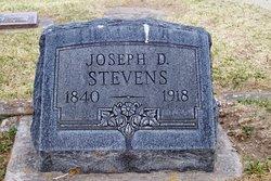 Joseph D Stevens