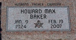 Howard Max Baker