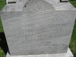 Mary Ann <i>McBride</i> Botkin