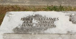 Harry D Davis
