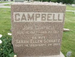 Sarah Ellen <i>Schantz</i> Campbell