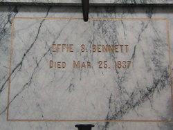 Effie S Bennett