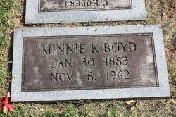 Minnie K. Boyd