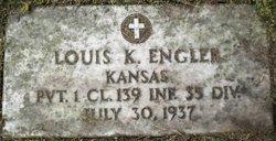 Pvt Louis K. Engler