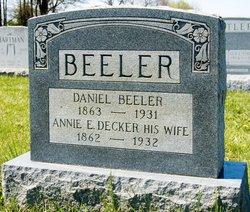 Annie E. <i>Decker</i> Beeler