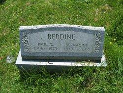 Bernadine <i>Wells</i> Berdine