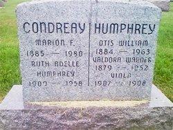 Ruth Adelle <i>Humphrey Niniger</i> Condreay