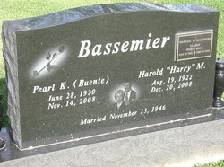Pearl K <i>Buente</i> Bassemier