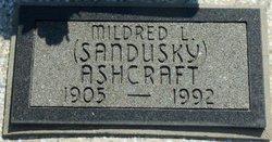 Mildred L <i>Sandusky</i> Ashcraft