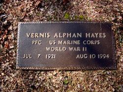Vernis Alphan Hayes
