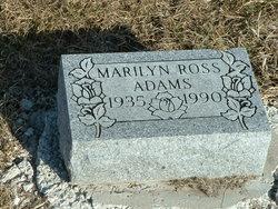 Marilyn Joyce <i>Ross</i> Adams