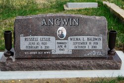 Russell Leslie Angwin