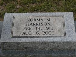 Mrs Norma M. Harrison