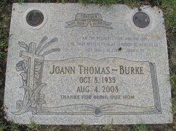 Joann <i>Thomas</i> Burke