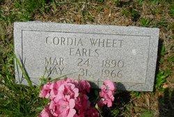 Cordia <i>Wheet</i> Earls