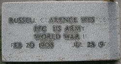 PFC Russell Clarence Whitaker aka Westley