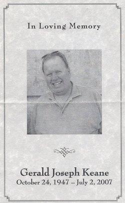 Gerald Joseph Jerry Keane