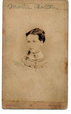 Mary Washington Mollie <i>Bolton</i> Chesterman