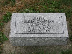 Emma May <i>Chapman</i> Anderson