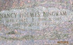 Nancy <i>Holmes</i> Bingham