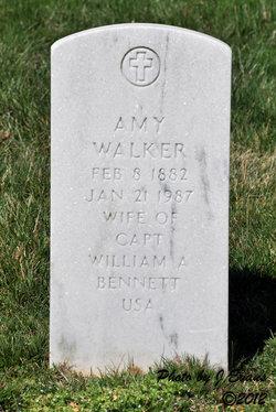 Amy <i>Walker</i> Bennett