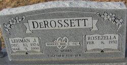 Lehman Jasper DeRossett
