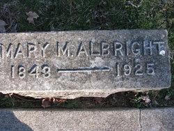 Mary Matilda <i>Stone</i> Albright