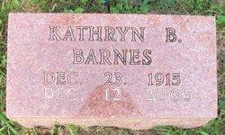 Kathryn <i>Brown</i> Barnes