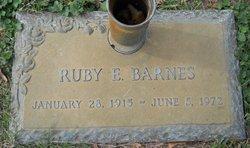Ruby Ellen <i>Clements</i> Barnes
