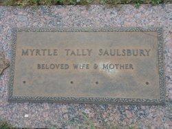 Myrtle Lorene Myrt <i>Tally</i> Saulsbury