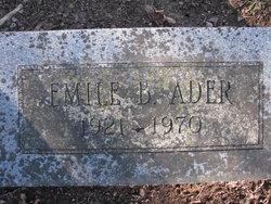 Emile B. Ader