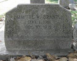 Emmitte William Brantly