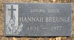 Hannah Breunle