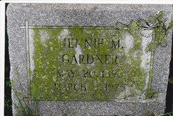 Jennie M. Gardner