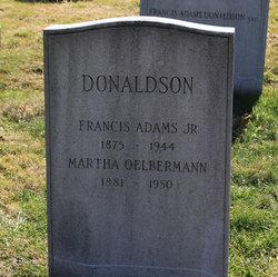 Franics Adams Donaldson, Jr