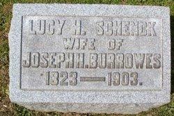Lucy H <i>Schenck</i> Burrowes