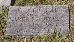 Ella <i>Corbell</i> Kunz