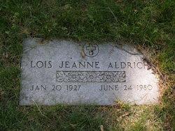 Lois Jeanne Aldrich