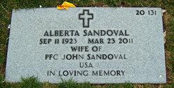 Alberta Sandoval