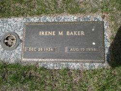 Irene M Baker