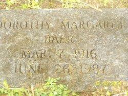 Dorothy Margaret Baer