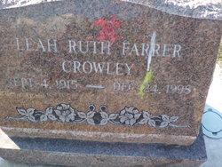 Leah Ruth <i>Farrer</i> Crowley